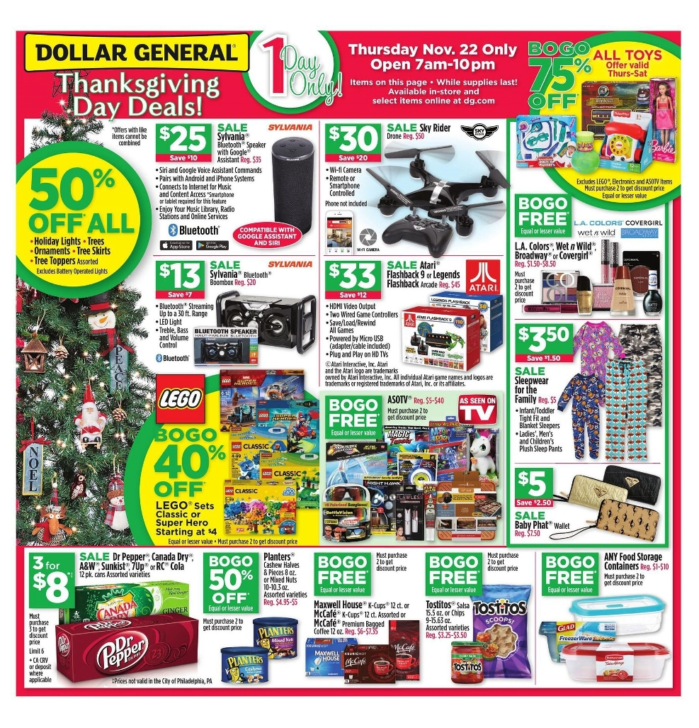Dollar General Black Friday page 1